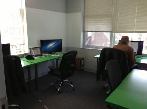 JR hard at work in the Data-Tamer arena