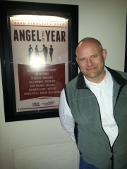 Psyched to be awarded the Angel of the Year.